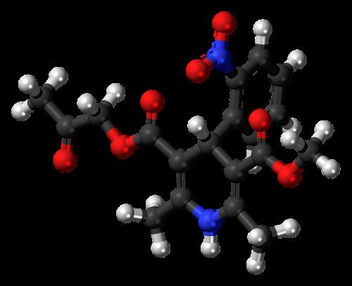 aranidipine calcium channel blocker molecule