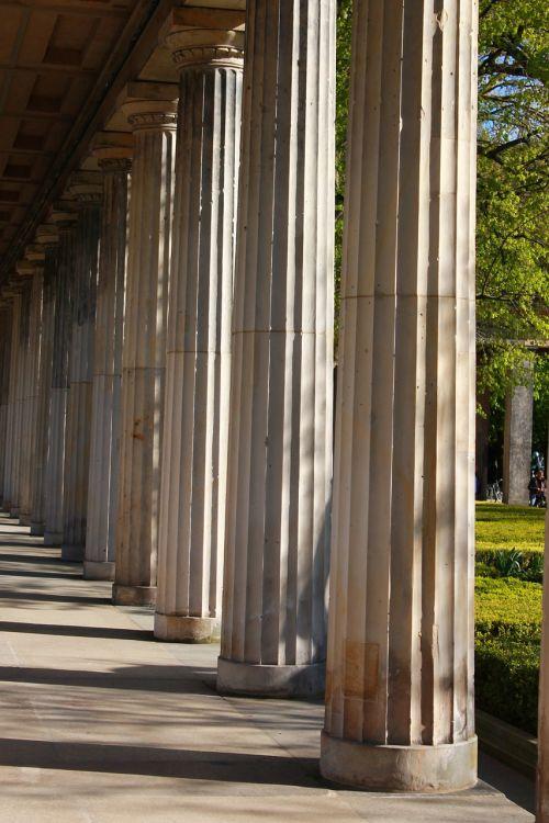 arcade,muziejaus sala,Berlynas,lankytinos vietos,architektūra,Vokietija,kapitalas,stulpelis,istoriškai
