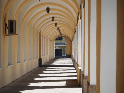 arcade arches architecture