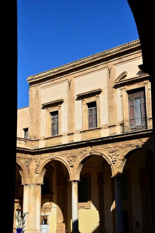 arcade monastery architecture