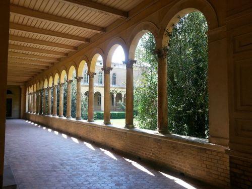 arcade,vienuolynas,architektūra,stulpelis,akmeniniai stulpai,ispaniškas,šviesa,šešėlis