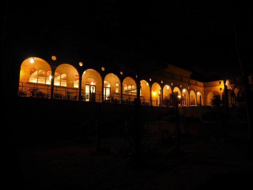arcades arches monastery cura