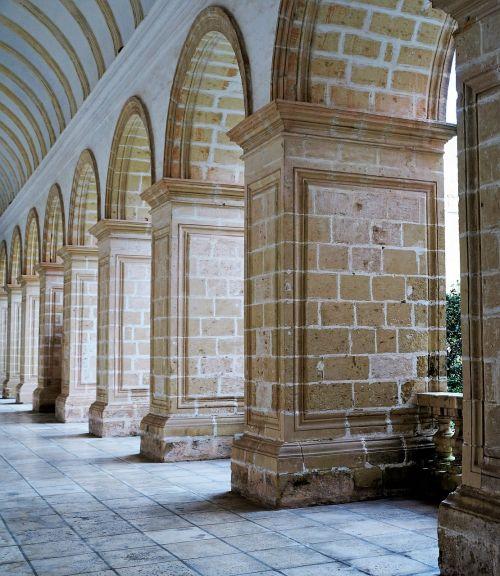 arcades monastery malta