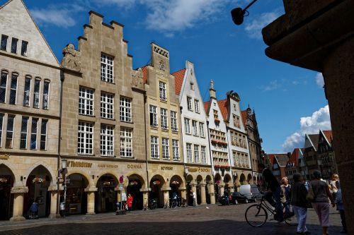 arcades münster architecture