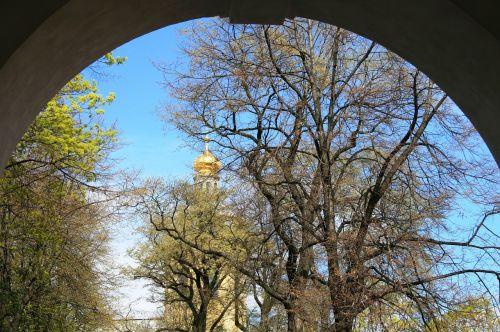 arch circular entrance