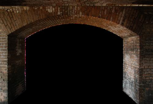 arch stone stone wall