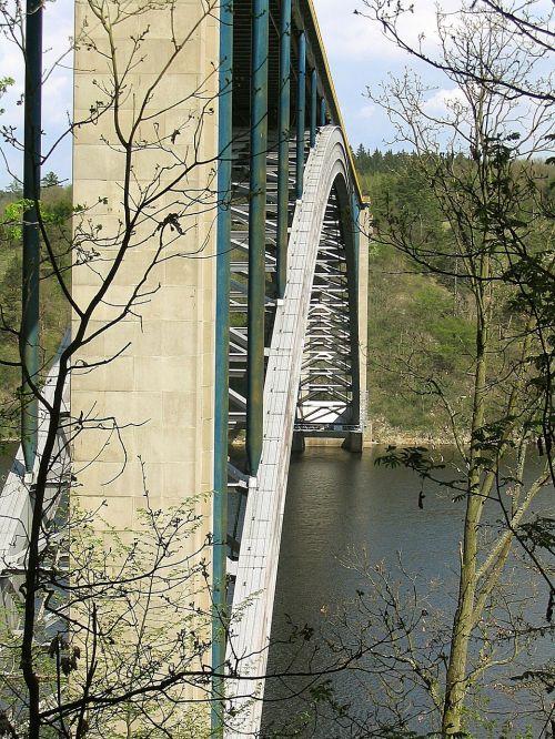 arch steel bridge architecture