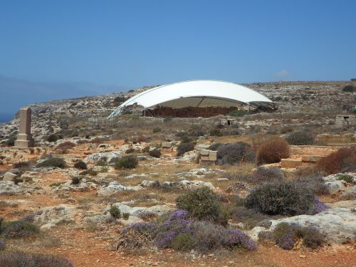 archaeology excavation sail shade