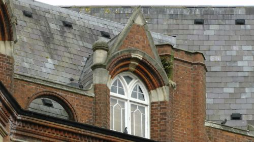 Arched Apartment Window