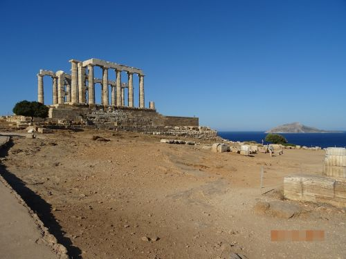 archeological site of sounion greece