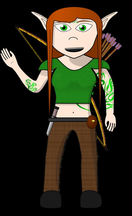 archer archery comic characters