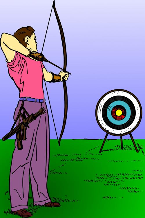 archer archery arrow