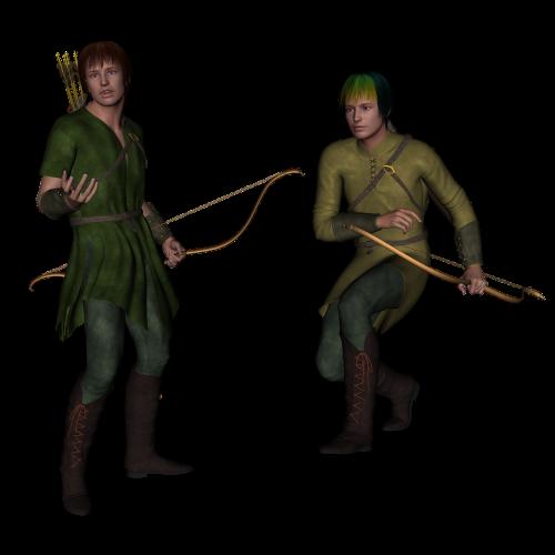 archer fantasy bow