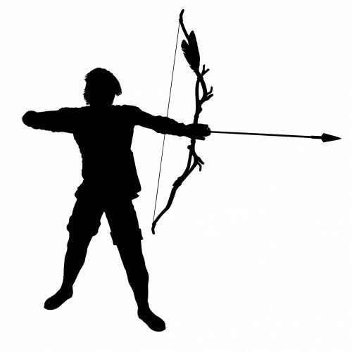 Archer, Bowman Silhouette