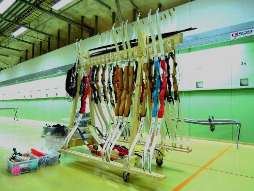archery strings rack