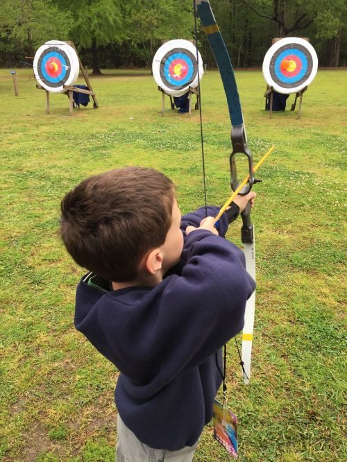 archery boy bow