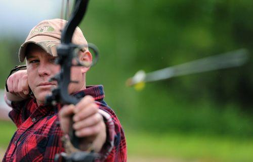 archery concentration aim