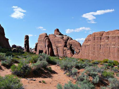 arches national park utah moab
