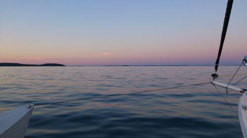 archipelago stockholm sunset