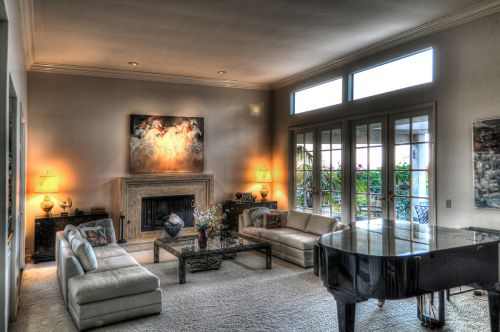 architectural living room architecture
