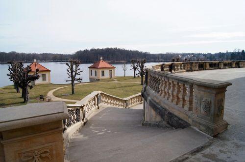 architecture lake building