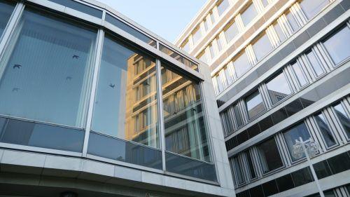 architecture glass facade
