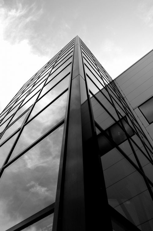 architecture glass building