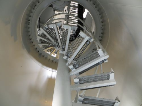 architecture spiral staircase stairs