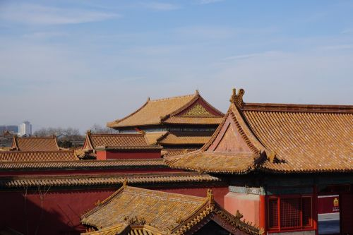 architecture forbidden city china