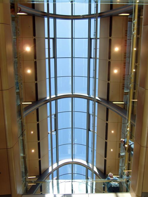 architecture glass shopping centre