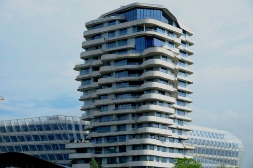 architecture building modern
