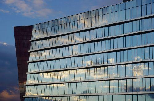 architecture facade sky