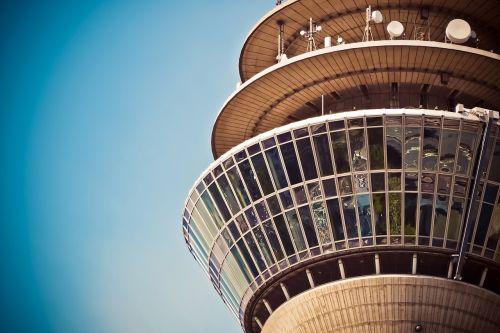 architecture tv tower landmark