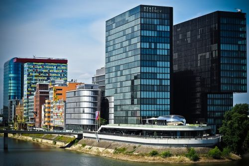 architecture media harbour düsseldorf