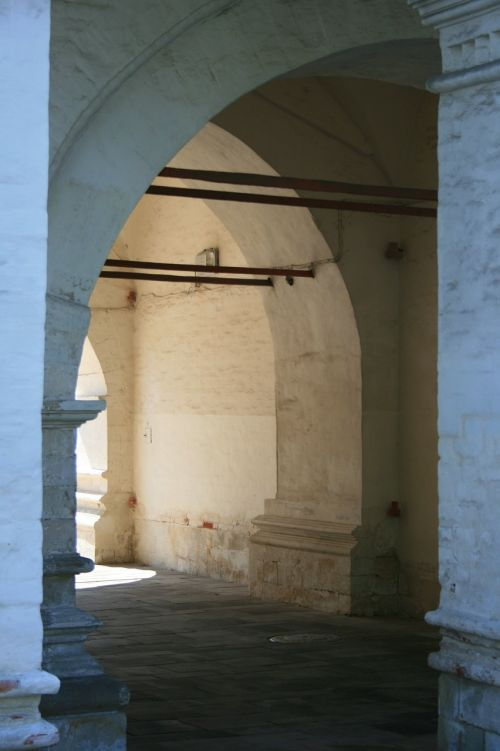 architecture russian archways