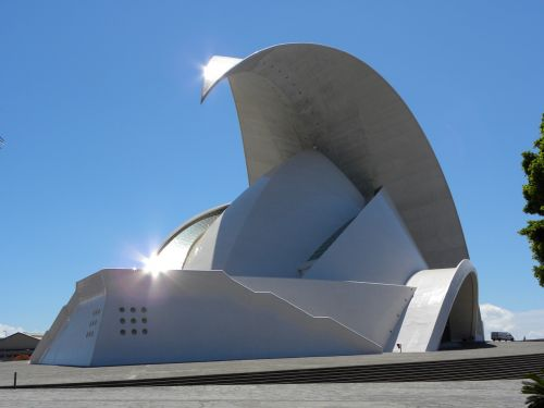 santa cruz of tenerife auditorio de tenerife architecture