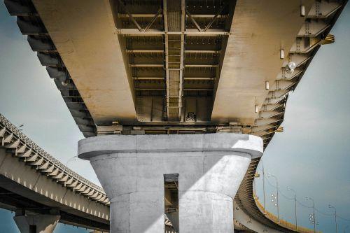 architecture bridge concrete