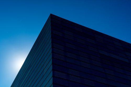 architecture blue sky building