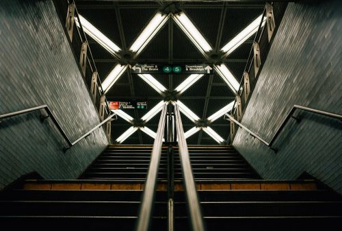 architecture building lights