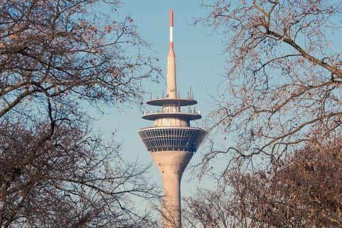 architecture tv tower düsseldorf