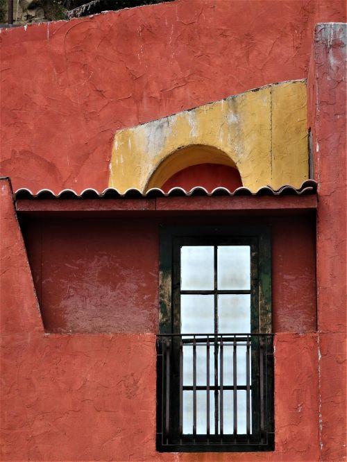 architecture window facade