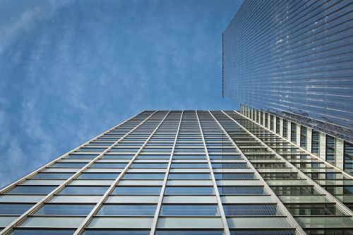 architecture skyscraper glass facades