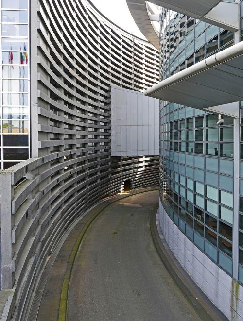 architecture european parliament strasbourg