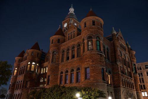 architecture historic night