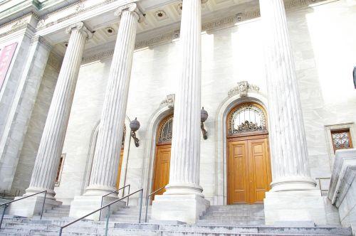 architecture columns building