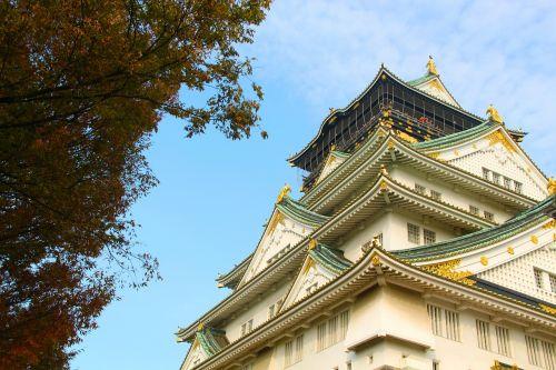 castle autumn architecture
