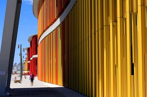 architecture modern modern building