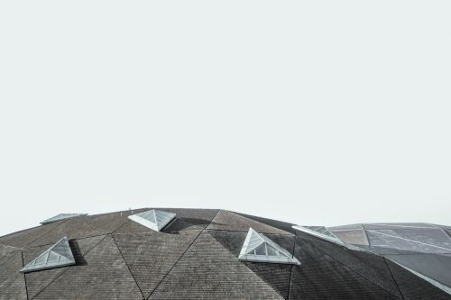 architecture building rooftop