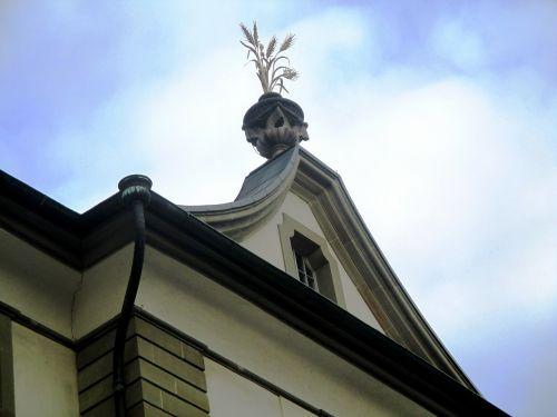 architecture grain house zurich symbol grain