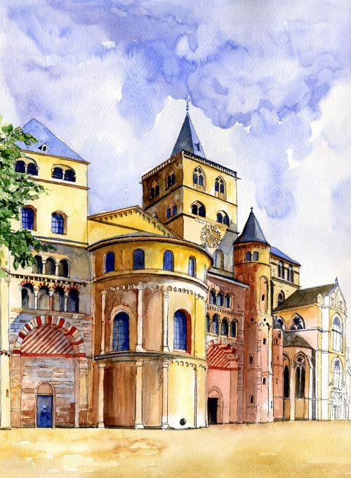 architecture germany trier